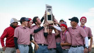 Men's Golf Wins Ninth State Title