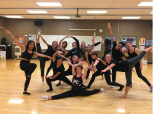 Dance Company Striding for Nationals