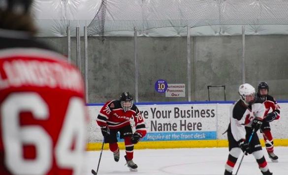 Photo credit to PCHS Hockey Instagram (@minershockeypchs)